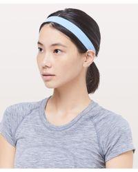 lululemon athletica Blue Cardio Cross Trainer Headband