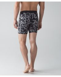 lululemon athletica - Black No Boxer Boxer (the Long One) for Men - Lyst