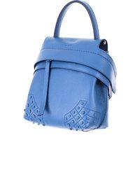 Tod's Blue Adjustable, Detachable Straps