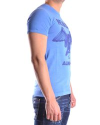 DSquared² - Blue DSQUARED2 T-shirt for Men - Lyst