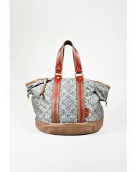 e726d8ffcef Louis Vuitton. Women s Grey Multicolour Canvas   Leather Monogram