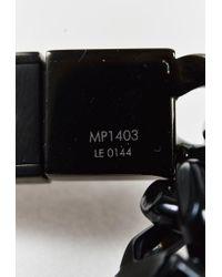Louis Vuitton - Black Lacquered Metal Id Bracelet - Lyst