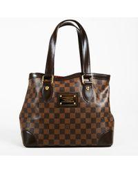 Louis Vuitton - Brown Damier Ebene Coated Canvas Hampstead Pm Bag - Lyst
