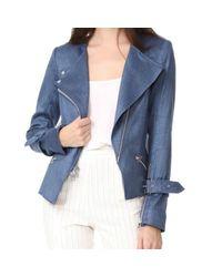 Veronica Beard Blue Sienna Collarless Jacket Sz: