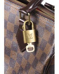 Louis Vuitton Speedy 25 Damier Ebene Bag Brown Sz: M