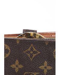 Louis Vuitton French Purse Monogram Wallet Brown/monogram Sz:
