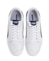 Puma Select White Ralph Sampson Low Leather Sneakers for men