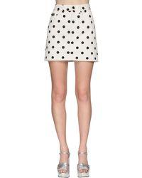 Marc Jacobs デニムミニスカート White