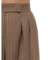 Max Mara Brown Hose Aus Cool Wool