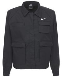 Nike Jordan ウーヴンテックジャケット Black