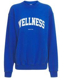 Sporty & Rich Wellness Ivy スウェットシャツ Blue
