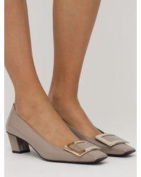 """Туфли """"belle Vivier"""" Из Лакированной Кожи 45mm Roger Vivier, цвет: Multicolor"""