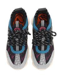 """Sneakesr À Imprimé Logo """"Chain Reaction"""" 45 Mm Versace en coloris Black"""