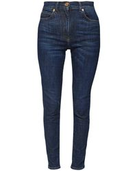 Versace コットンデニムジーンズ Blue