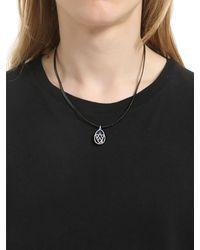 """Collar """"chevron Shield"""" Con Diamantes Jade Jagger de hombre de color Black"""