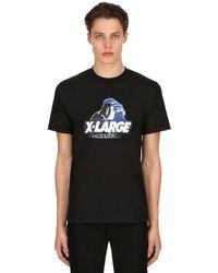 """Xlarge T-shirt Aus Baumwolljersey Mit Druck """"japonism Og"""" in Black für Herren"""