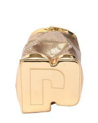 Paco Rabanne - Medium Metal Mesh & Metallic Leather Bag - Lyst