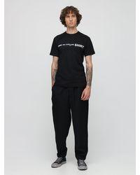 メンズ Comme des Garçons コットンtシャツ Black