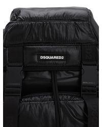 メンズ DSquared² テクノトレッキングバックパック Black