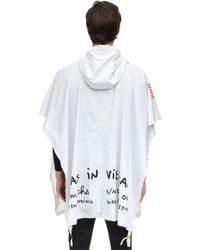 Nike White Craft X Tom Sachs Packable Poncho for men