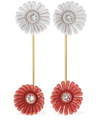 Marni Flower ピアス Red