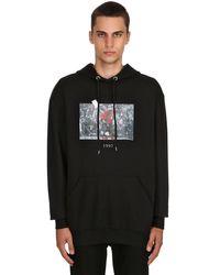"""Sweat-Shirt À Capuche """"1997"""" En Coton Throwback. pour homme en coloris Black"""