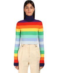 Paco Rabanne ウールブレンドセーター Multicolor