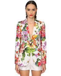 Dolce & Gabbana コットンドリルジャケット White