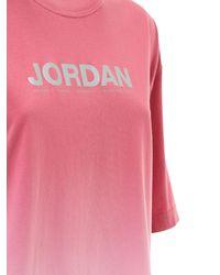 Nike Jordan オーバサイズコットンtシャツ Multicolor