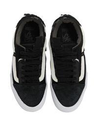 """Sneakers """"Old Skool Cap Lx"""" Vans en coloris Black"""