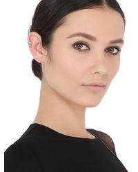 Sarah Noor - Metallic Triple Row Mono Ear Cuff - Lyst