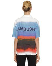 Camicia Tie Dye di Ambush in Blue