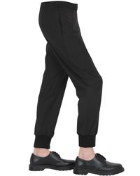 Neil Barrett Black Casual Pants for men