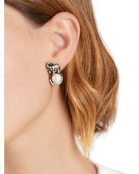 Alcozer & J - Metallic Elsa Elephant Earrings - Lyst