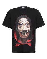 T-Shirt Relaxed En Coton Imprimé Dali Ih Nom Uh Nit pour homme en coloris Black