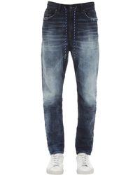 メンズ DIESEL D-vider ジョガージーンズ 17cm Blue