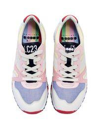 Diadora Multicolor Lc23 N9000 Heritage Oxford Sneakers