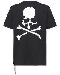 メンズ MASTERMIND WORLD コットンtシャツ Black