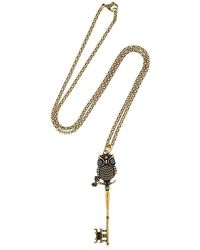 Alcozer & J - Metallic Howl Necklace - Lyst