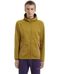 Nike Yellow Nikelab Gyakusou Running Sweatshirt for men