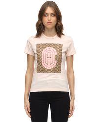 COACH Retro C コットンジャージーtシャツ Pink