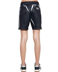 """Alexander Wang Black Shorts """"aw"""""""