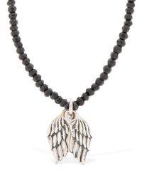 "Collar ""wings"" De Cuentas Cantini Mc Firenze de hombre de color Metallic"