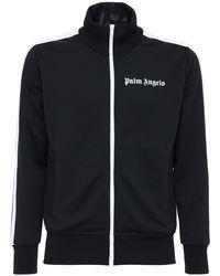 Palm Angels Trainingshose Aus Technojersey Mit Logodruck in Black für Herren