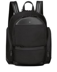 Montblanc - Black Medium Nightflight Nylon Backpack for Men - Lyst
