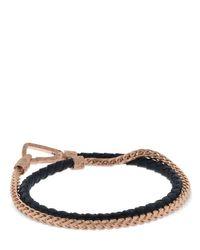 Bracelet En Perles Et Chaîne MARCO DAL MASO pour homme en coloris Multicolor