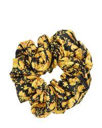 Резинка Для Волос С Принтом Versace, цвет: Black