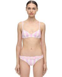 """Solid & Striped Pink Bikinioberteil """"rachel"""""""
