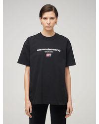 Alexander Wang コットンtシャツ Black