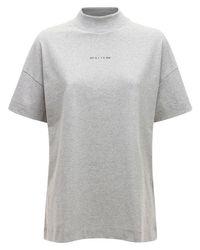 1017 ALYX 9SM Mocktie ジャージーtシャツ Gray